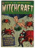 Golden Age (1938-1955):Horror, Witchcraft #3 (Avon, 1952) Condition: GD/VG....
