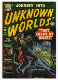 Golden Age (1938-1955):Horror, Journey Into Unknown Worlds #15 (Atlas, 1953) Condition: VG/FN....
