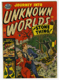 Silver Age (1956-1969):Horror, Journey Into Unknown Worlds #8 (Atlas, 1951) Condition: GD/VG....