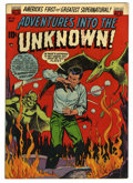 Golden Age (1938-1955):Horror, Adventures Into The Unknown #43 (ACG, 1953) Condition: VF....