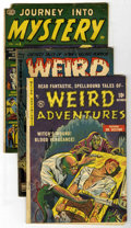 Golden Age (1938-1955):Horror, Miscellaneous Golden Age Horror Group (Various Publishers, 1951-53)Condition: Average GD.... (Total: 5 Comic Books)