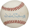 Autographs:Baseballs, Willie Stargell Single Signed Baseball. The ONL (Feeney) baseballholds the signature of Hall of Famer Willie Stargell. Sta...