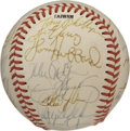 Autographs:Baseballs, 1988 Oakland A's Team Signed Baseball. The 1988 Oakland A's playedin and eventually lost the World Series that year to the...