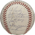 Autographs:Baseballs, 1984 Oakland A's Team Signed Baseball. The 1984 Oakland A's was ateam with plenty of star power. The official Oakland A's ...