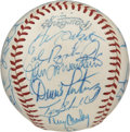 Autographs:Baseballs, 1982 Baltimore Orioles Team Signed Baseball. A total of 25top-quality signatures reside on the surface of the clean OAL (M...