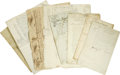 Autographs:Non-American, Archive of 17th and 18th Century German Documents. ... (Total: 8Items)