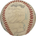 Autographs:Baseballs, 1978 Cincinnati Reds Team Signed Baseball. The Cincinnati Reds won92 games 1978 and finished second in the division. The O...
