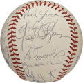 Autographs:Baseballs, 1982 Milwaukee Brewers Team Signed Baseball. One of the teams thatplayed in the 1982 World Series, the Milwaukee Brewers a...