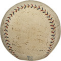 Autographs:Baseballs, 1925 Washington Senators Team Signed Baseball. The American LeagueChampions of 1925 added their signatures to the OAL (Joh...