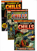 Bronze Age (1970-1979):Horror, Chamber of Chills Group (Marvel, 1973-75) Condition: Average VF....(Total: 7 Comic Books)