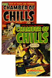 Chamber of Chills #5 and 7 Group (Harvey, 1952).... (Total: 2 Comic Books)