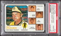 Baseball Cards:Singles (1970-Now), 1973 Topps Padres Mgr./Coaches, Podres Has Right Ear #12 PSA GemMint 10....