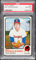 Baseball Cards:Singles (1970-Now), 1973 Topps Bill Gogolewski #27 PSA Gem Mint 10....