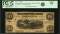 Obsoletes By State:Kansas, Leavenworth City, Kansas T. - Drovers Bank $10 Nov. 1, 1856 KS-30 G22a, Whitfield 122. Remainder. PCGS Very Fine 30.. ...