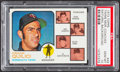 Baseball Cards:Singles (1970-Now), 1973 Topps Twins Mgr./Coaches, Natural Background #49 PSA Gem Mint 10....