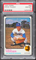 Baseball Cards:Singles (1970-Now), 1973 Topps Steve Yeager #59 PSA Gem Mint 10....