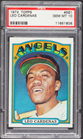 Baseball Cards:Singles (1970-Now), 1972 Topps Leo Cardenas #561 PSA Gem Mint 10....