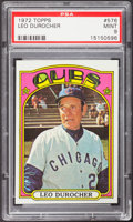 Baseball Cards:Singles (1970-Now), 1972 Topps Leo Durocher #576 PSA Mint 9....