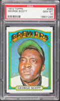 Baseball Cards:Singles (1970-Now), 1972 Topps George Scott #585 PSA Gem Mint 10....