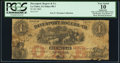 Obsoletes By State:Iowa, La Claire, IA - Davenport, Rogers & Co. $1 1860 Oakes 88-1.PCGS Very Good 10 Apparent.. ...