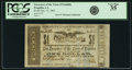 Obsoletes By State:Louisiana, Franklin, LA - Treasurer of the Town of Franklin $1 December 15, 1862. PCGS Very Fine 35.. ...