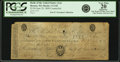 Obsoletes By State:Massachusetts, Boston, MA - Bank of the United States (the First) $5 Office ofDiscount & Deposit June 20, 1800 US-1 C142 . PCGS Very Fine20...