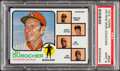 Baseball Cards:Singles (1970-Now), 1973 Topps Astros Mgr./Coaches #624 PSA Mint 9....