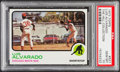 Baseball Cards:Singles (1970-Now), 1973 Topps Luis Alvarado #627 PSA Gem Mint 10 - Pop One....
