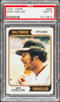 Baseball Cards:Singles (1970-Now), 1974 Topps Mike Cuellar #560 PSA Mint 9....