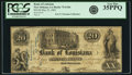 Obsoletes By State:Louisiana, New Orleans, LA - Bank of Louisiana $20 Forced Issue May 22, 1862 LA-75 G18c. PCGS Very Fine 35PPQ.. ...