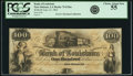 Obsoletes By State:Louisiana, New Orleans, LA - Bank of Louisiana $100 June 14, 1862 LA-75 G26a. PCGS Choice About New 55.. ...