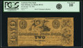 Obsoletes By State:Louisiana, New Orleans, LA - Louisiana State Bank $2 Sept. 18, 1861 LA-80 G4. PCGS Very Good 10.. ...