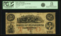 Obsoletes By State:Indiana, Plymouth, IN - Bank of Plymouth $2 January 1, 1857 IN-535 G8a, WVS 671-3. PCGS Fine 12 Apparent.. ...
