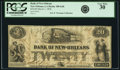 Obsoletes By State:Louisiana, New Orleans, LA - Bank of New Orleans $20 March 1, 1858 LA-100 G6b. PCGS Very Fine 30.. ...