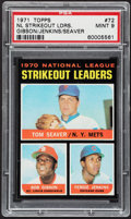 Baseball Cards:Singles (1970-Now), 1971 Topps NL Strikeout Leaders #72 PSA Mint 9....