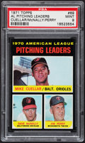 Baseball Cards:Singles (1970-Now), 1971 Topps AL Pitching Leaders #69 PSA Mint 9 - Pop Four, None Higher....