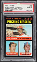 Baseball Cards:Singles (1970-Now), 1971 Topps NL Pitching Leaders #70 PSA Mint 9....