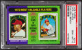 Baseball Cards:Singles (1970-Now), 1975 Topps 1972-MVP's #210 PSA Gem Mint 10 - Pop Three....