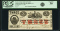Obsoletes By State:Louisiana, Parish of Saint John the Baptist, LA - Parish of Saint John the Baptist $3 March 31, 1862. PCGS Very Fine 30.. ...