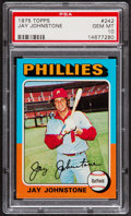 Baseball Cards:Singles (1970-Now), 1975 Topps Jay Johnstone #242 PSA Gem Mint 10....