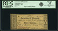 Obsoletes By State:Louisiana, Plaquemine, LA - Corporation of Plaquemine 5 Cents March 1, 1862. PCGS Very Fine 35 Apparent.. ...