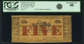 Obsoletes By State:Louisiana, St. Martinsville, LA - Parish of St. Martin $5 April 1, 1862. PCGS Extremely Fine 40.. ...