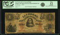 Obsoletes By State:Minnesota, Hokah, MN - La Crosse & La Crescent Bank $1 Jan. 1, 1859 MN-50G2a, Hewitt B200-D1-2b. PCGS Fine 12 Apparent.. ...