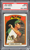 Baseball Cards:Singles (1970-Now), 1972 Topps Mike Hegan #632 PSA Mint 9....
