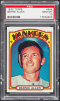 Baseball Cards:Singles (1970-Now), 1972 Topps Bernie Allen #644 PSA Gem Mint 10....
