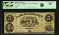 Obsoletes By State:Minnesota, Rochester, MN - Bank of Rochester $5 April 21, 1859 MN-112 G6,Hewitt B580-D5. PCGS Very Fine 25.. ...