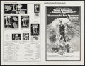 "Movie Posters:James Bond, Diamonds are Forever (United Artists, 1971). Uncut Pressbook (8Pages, 11"" X 17""). James Bond.. ..."
