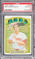 Baseball Cards:Singles (1970-Now), 1972 Topps Bob Aspromonte #659 PSA Gem Mint 10....