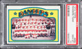 Baseball Cards:Singles (1970-Now), 1972 Topps Rangers Team #668 PSA Gem Mint 10....