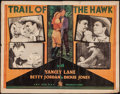 "Movie Posters:Western, The Hawk (Jay-Dee-Kay, R-1937). Half Sheet (22"" X 28""). Western. Re-issue Title: Trail of the Hawk.. ..."